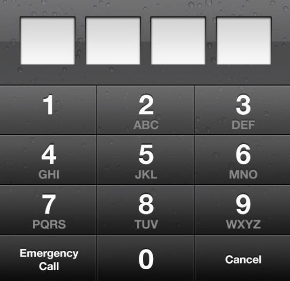 iPhone 5 iOS 6 Screenlock GUI PSD
