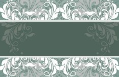 Vector Vintage Floral Background 01