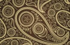 Vector Vintage Floral Background 03