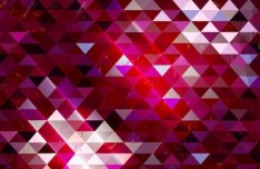Colorful Shining Mosaic Vector Background 01