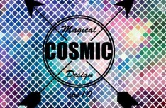 Colorful Shining Mosaic Vector Background 07