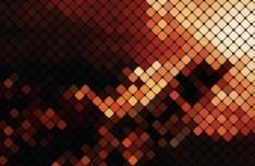 Fashion Shining Mosaic Vector Background 07