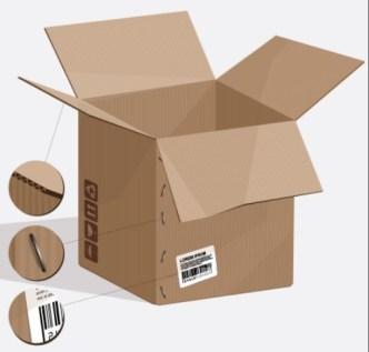 Set Of Vector Elegant Product Packaging Design Templates 04