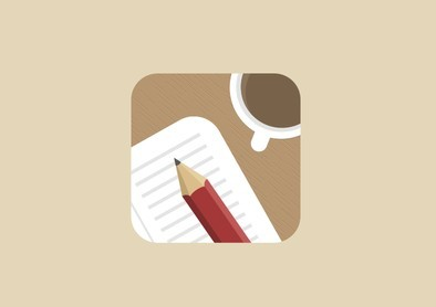 Simple Flat Icon Template PSD