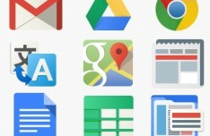 Google Application Icon Set PSD