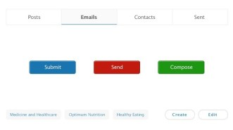 Super Simple Web UI Kit PSD