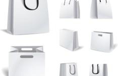 Elegant Vector Paper Shopping Bag Design Template 06