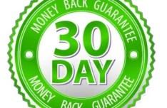 Green 30 Day Money Back Guarantee Vector Badge
