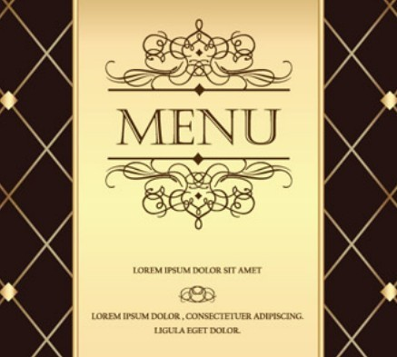 menu template Graphic Design Resources For Free Download