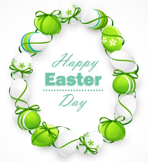 Creative Easter Eggs Design Vector 05