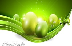 Creative Easter Eggs Design Vector 06