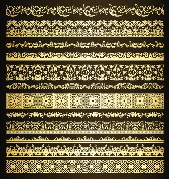 I Designed A Vintage Looking Border Art For You To Use In: Free Elegant Vintage Vector Floral Borders 05