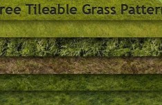 6 Tileable Grass Photoshop Patterns