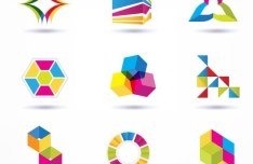 Colorful Vector Creative Icon Set 03