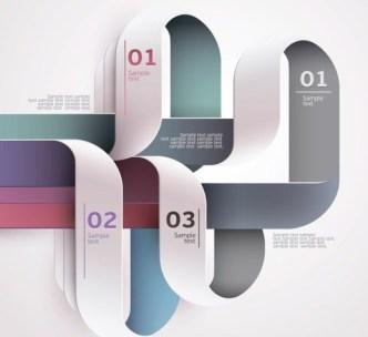 Creative Infographic Label Elements Vector 01