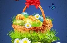 Creative Easter Eggs Vector Design 01