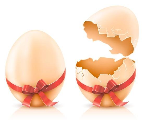 Creative Easter Eggs Vector Design 02