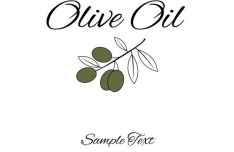 Vector Olive Oil Labels and Logos 04