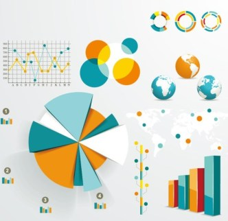 Vector Infographic and Chart Design Elements 05