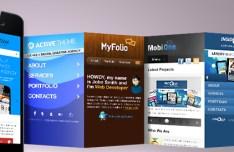 App Showcase PSD Mockups