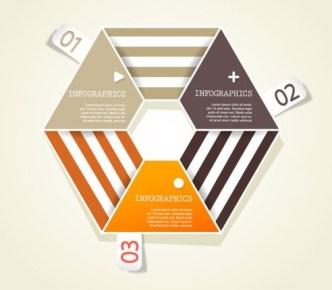 Creative Infographic Data Display Elements Vector 03
