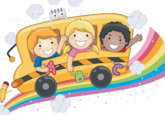 Cute Cartoon Kids Vector Illustration 03
