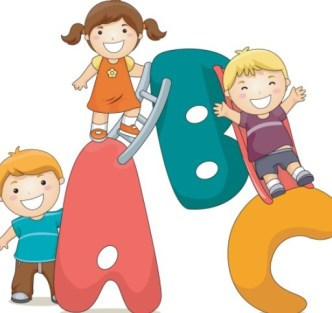 Cute Cartoon Kids Vector Illustration 04