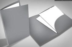PSD Corporate Folder Mockup