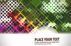 Fashion and Colorful Vector Background 01