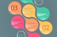 Creative Vector Origami Option Label For Infographic 02
