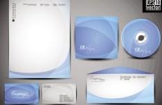 Vector Corporate Identity Design Template 03