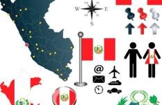 Vector Peru Information Graphic Elements
