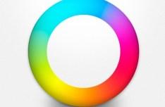 Colorful PSD Circle