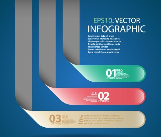 Vector Creative Data Display Elements For Infographic 05