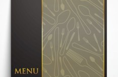 Classical Vector Restaurant Menu Template 02
