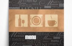 Classical Vector Restaurant Menu Template 03