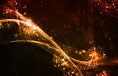 Dark Abstract Technology Vector Background 06