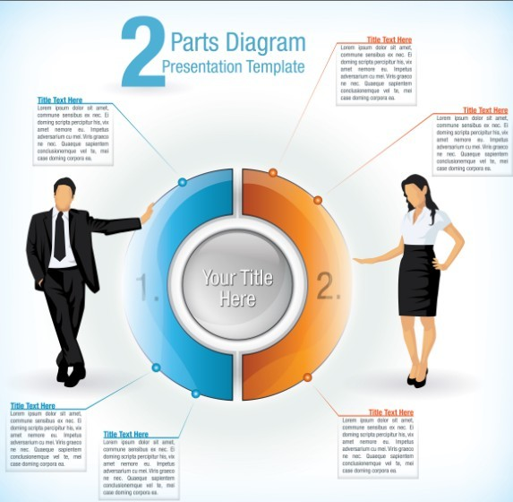 Vector Business Infographic Design Elements 03