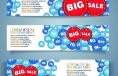 Vector Big Sale Banners