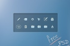 Mail Client Icons PSD