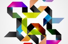 Fashion Abstract Pattern Background 07