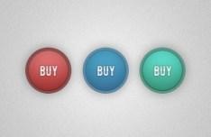Simple Circular Buy Button PSD
