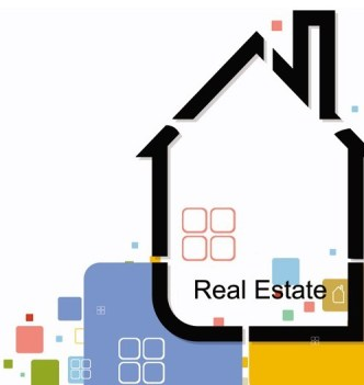 Abstract Real Estate Vector Illustration 05