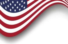Vintage American Flag Design Vector 01