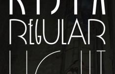 Rispa Regular Typeface