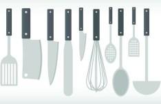 Vector Cookware and Cooking Utensils 02