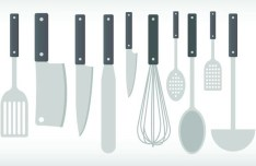 Vector Cookware and Cooking Utensils 02