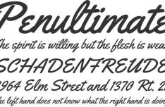 Free Font YELLOWTAIL