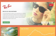 Ecommerce Website UI Elements PSD