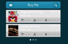 Mobile Buy Me App Interface PSD